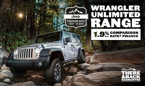 Jeep Wrangler Unlimited Range