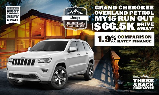 Jeep Grand Cherokee Overland Petrol