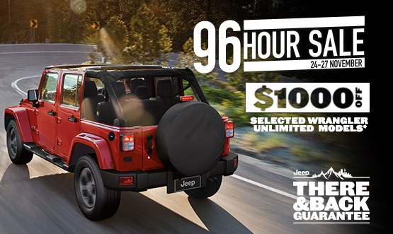 Wrangler Unlimited  Black Friday