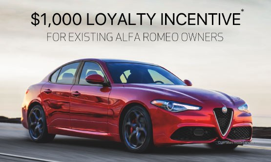 Alfa Romeo Loyalty Offer
