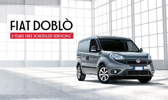 Fiat Doblo 3 Years Free Scheduled Servicing
