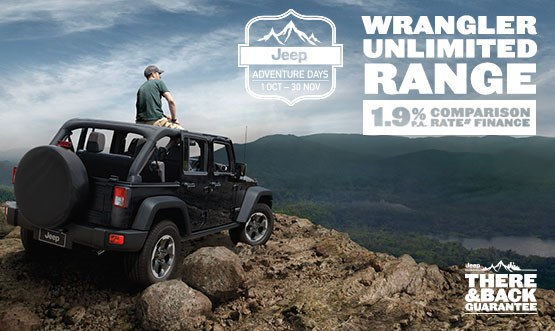 Wrangler Unlimited Range