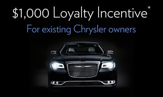 Chrysler Loyalty Offer