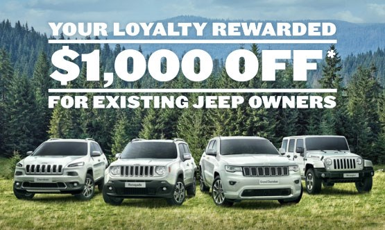 Jeep Loyalty Offer