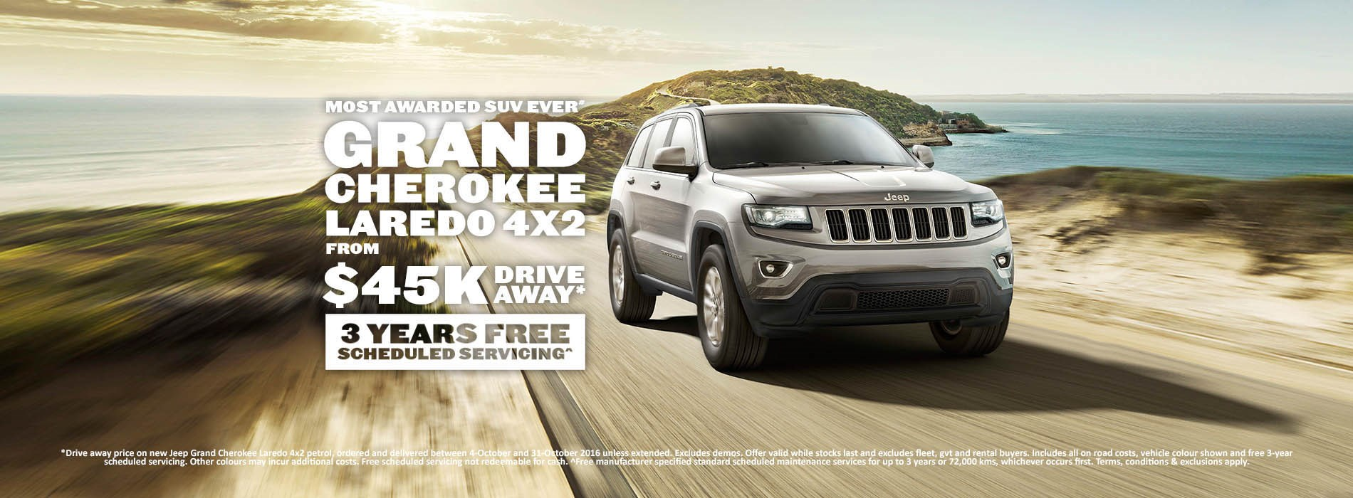 Jeep Grand Cherokee Laredo Offer