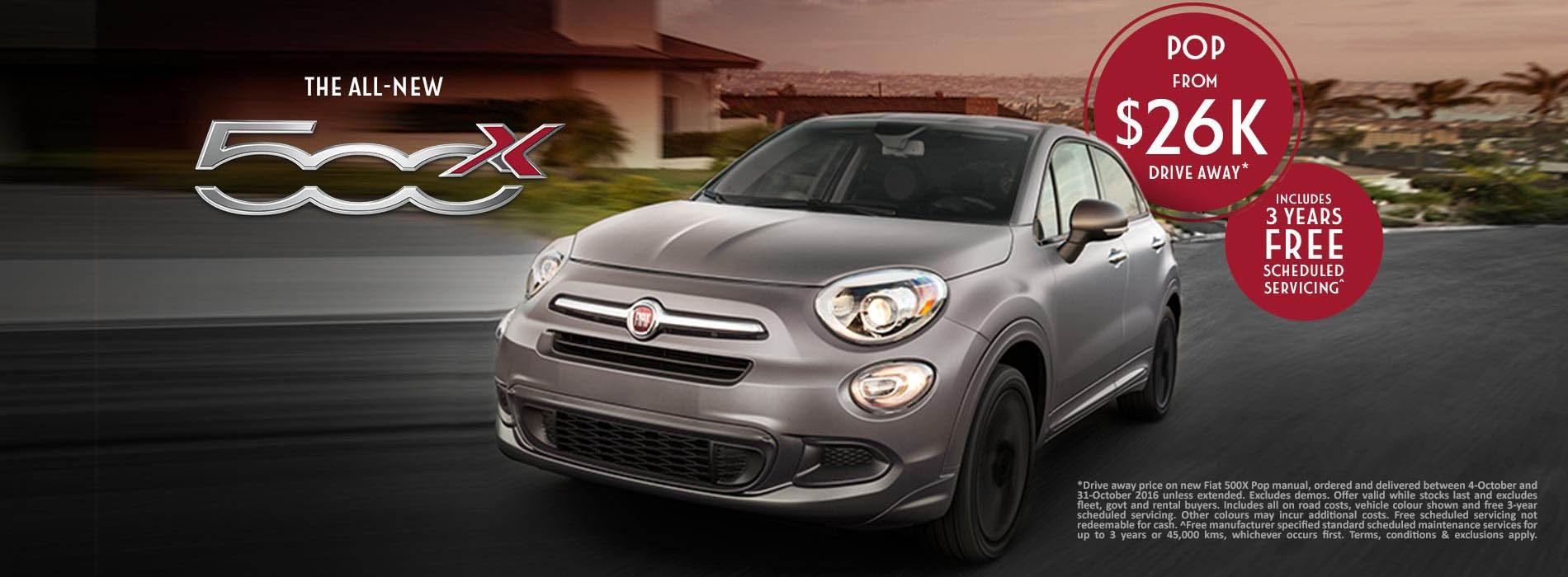 Fiat 500X Pop Offer