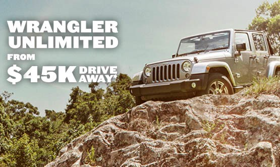 Jeep Wrangler Unlimited Offer