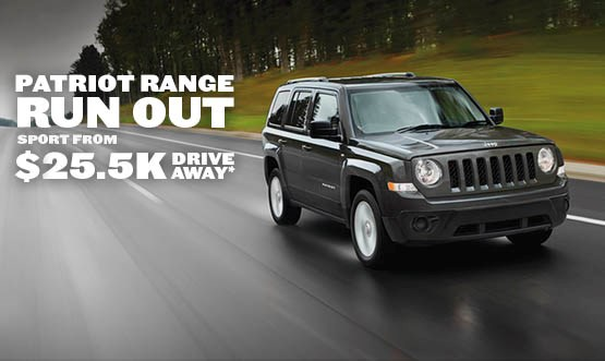 Jeep Patriot Offer