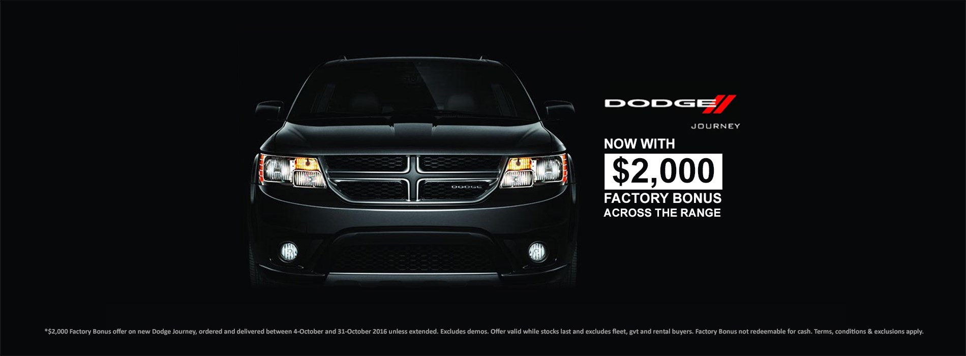 Dodge Journey Offer