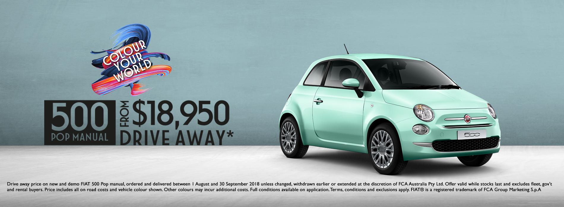 Fiat 500 Offer
