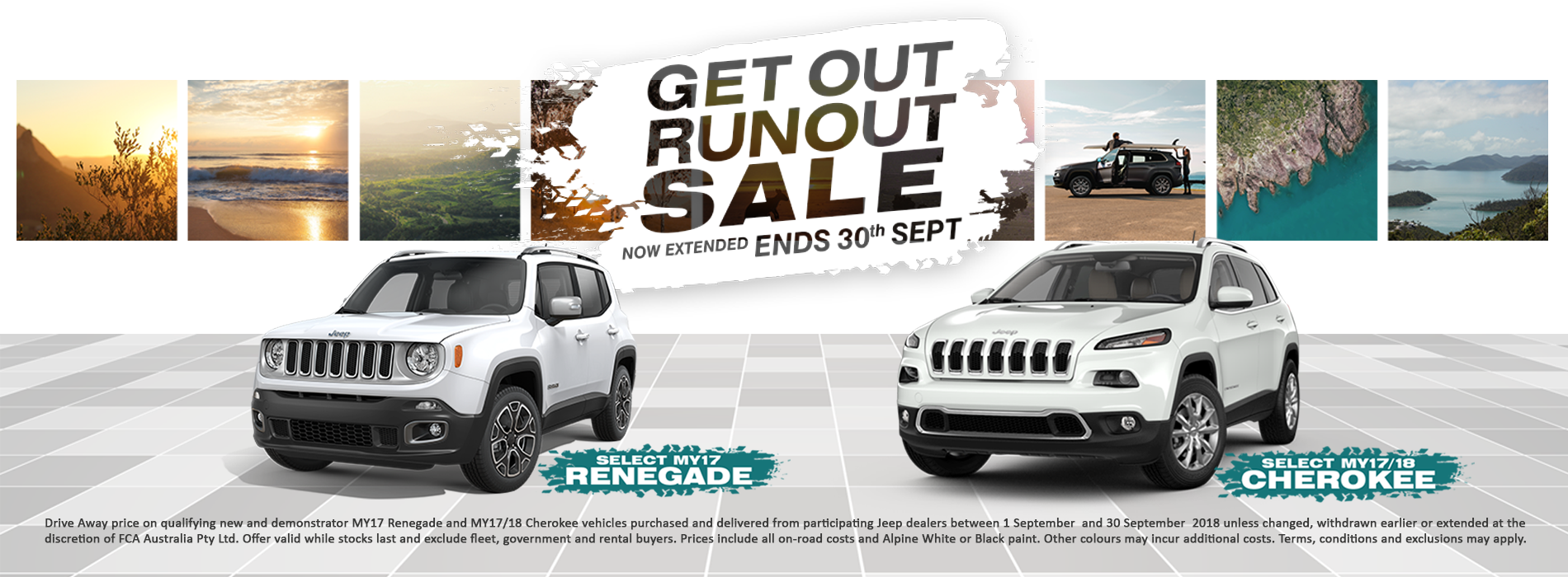 Get out Run Out Promotion