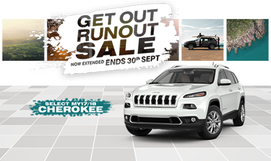 Get Out Runout Cherokee Offer
