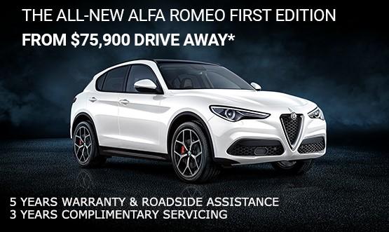 Alfa romeo Stelvio Offer